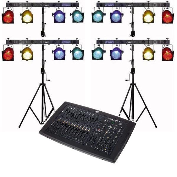 Complete disco lichtset met par 56