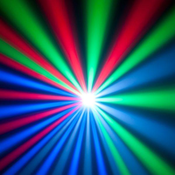 American DJ Revo 4 moonflower huren - Disco - Lichteffect huren in gebruik 1