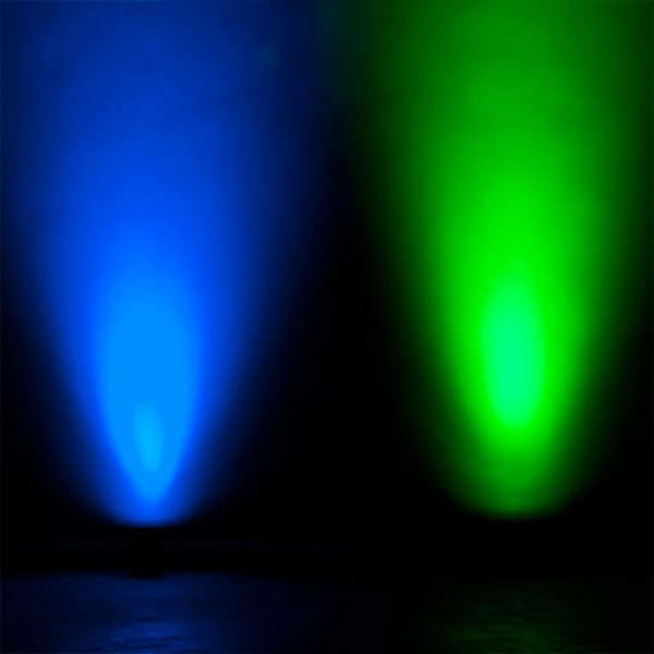 Accu RGBA LED Par voor wandverlichting