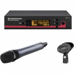 Sennheiser EW145 G3 Draadloze handheld microfoon huren