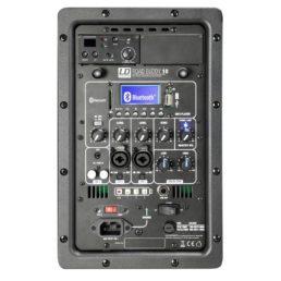 Accu speaker 10 inch met draadloze microfoon aansluitingen
