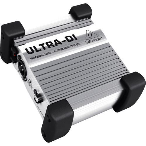 Actieve DI Box Huren - Verhuur van Behringer Ultra DI 100 - Aluminium