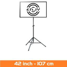LCD Scherm huren - Verhuur van LED scherm 42 inch op statief