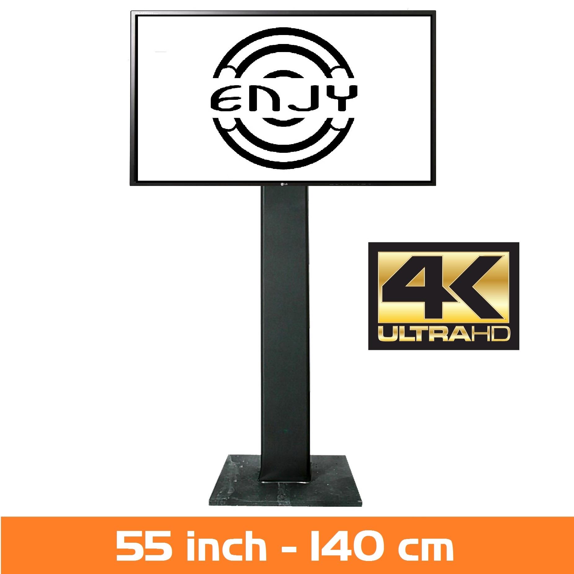 LCD Scherm huren - Verhuur van LED scherm 55 inch - 4K